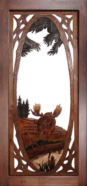 Moose Screen Door